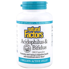 Acidophilus & Bifidus 5 Billion Active Cells.