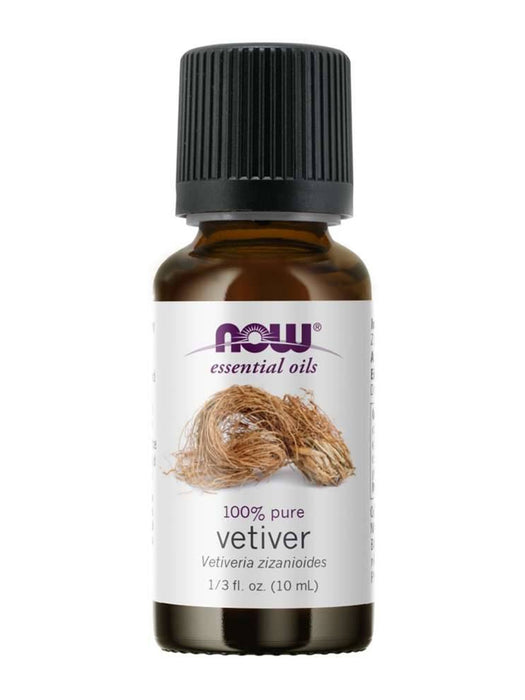 NOW VETIVER OIL 10ML