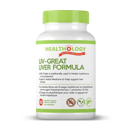 Healthology Liv-Great 60 Capsules