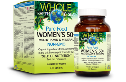 Pure Food Women's 50+ Multivitamin and Mineral