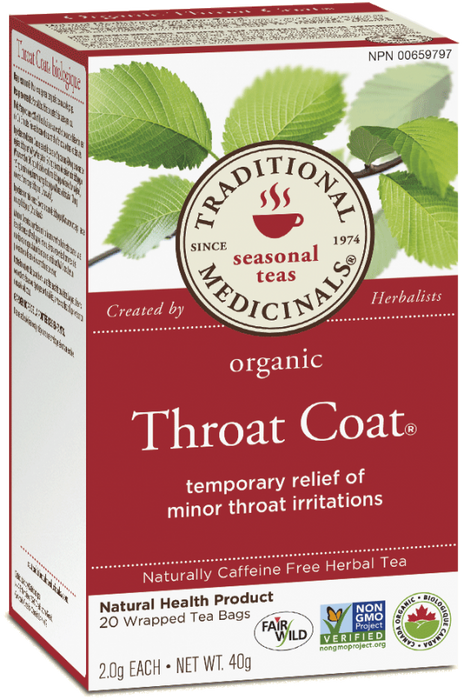 Organic Throat Coat