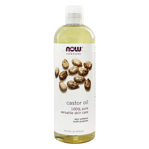 Castor Oil, Expeller Pressed 473ml
