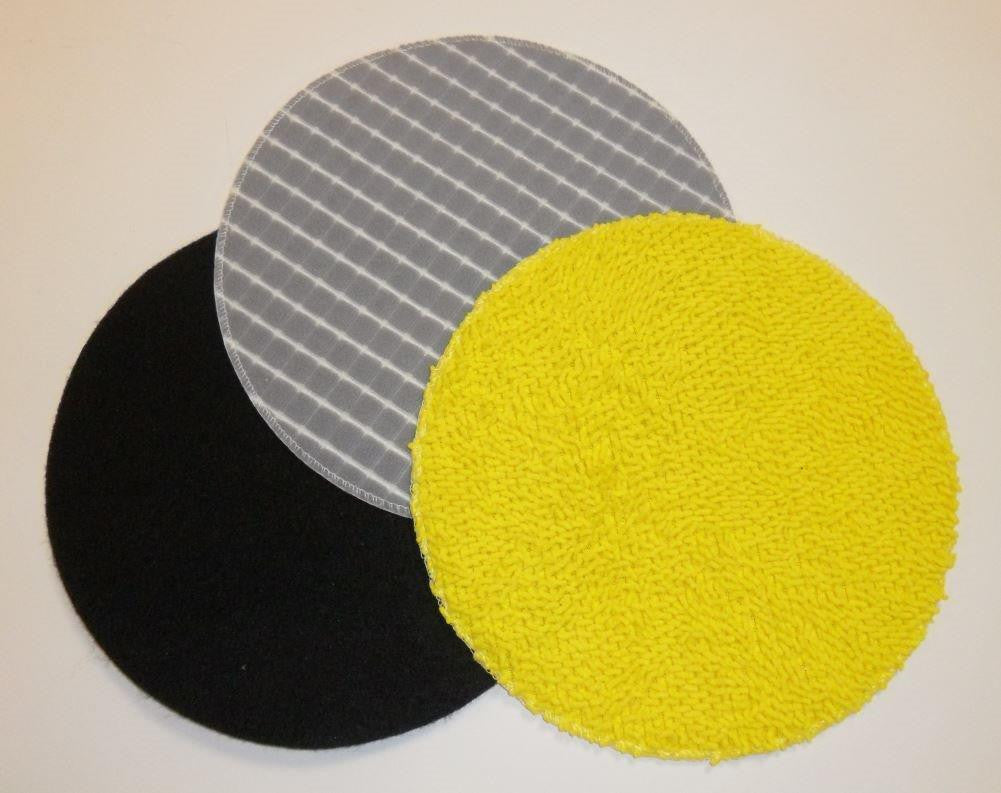 3x washable reusable cleaning pads for Cha-Cha CFP600 and Cha-Cha2 CFP700
