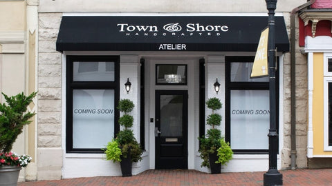 Front of Town and Shore Handcrafted store