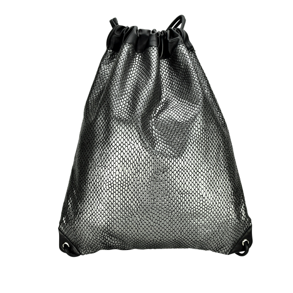 Anna Club Backpack - Dragon Scale Suede & Lambskin