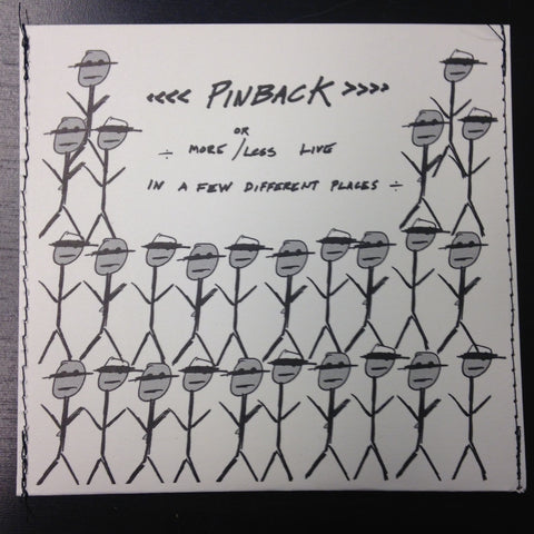 Pinback || More or Less Live || CD EP