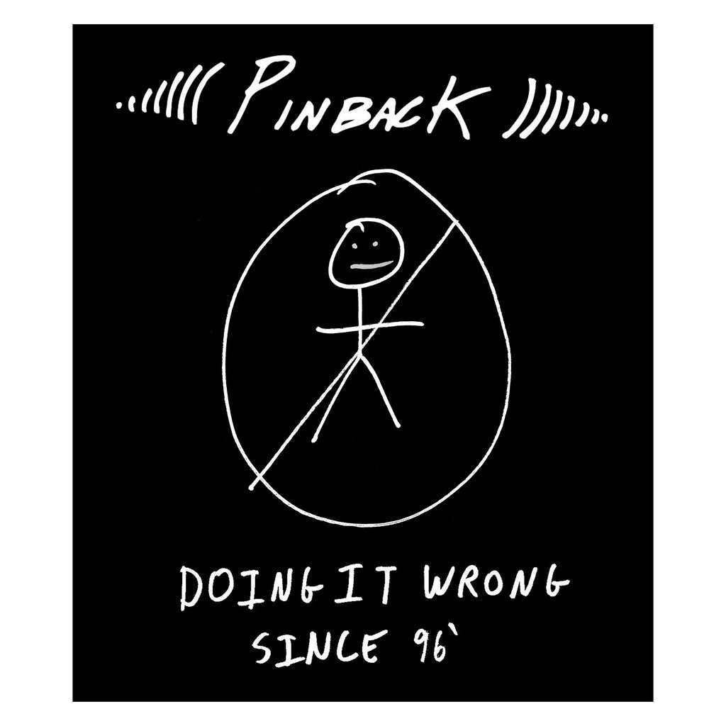 Pinback || Doing it Wrong || Sticker