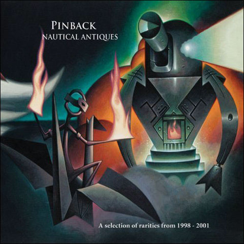 Pinback || Nautical Antiques || CD