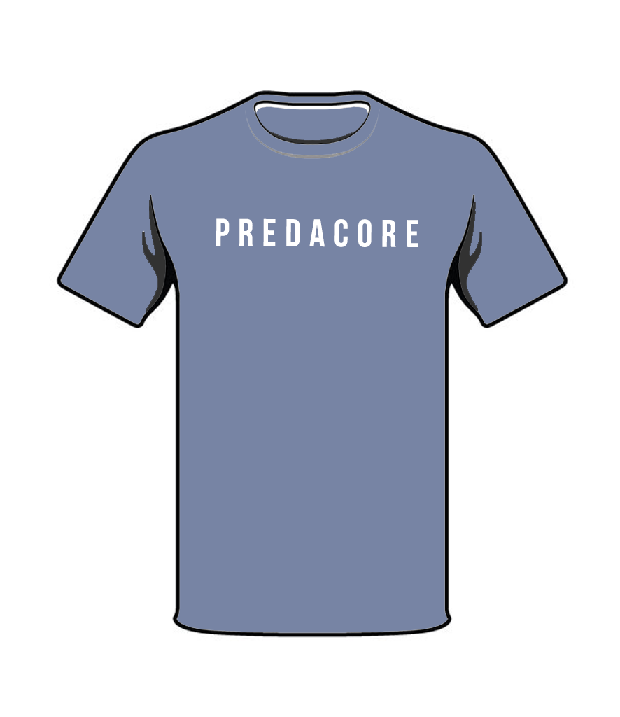 PREDACORE ICON T-SHIRT - HEATHER BLUE