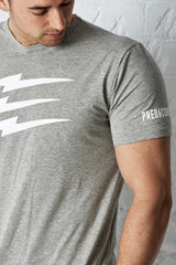 PREDACORE EMBRACE T-SHIRT - MARL GREY