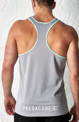 PREDACORE HERO STRINGER - MINT/GREY