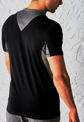 PREDACORE ASPECT T-SHIRT - BLACK/GRAPHITE
