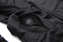 PREDACORE PERFORM HOODIE - MIDNIGHT BLACK