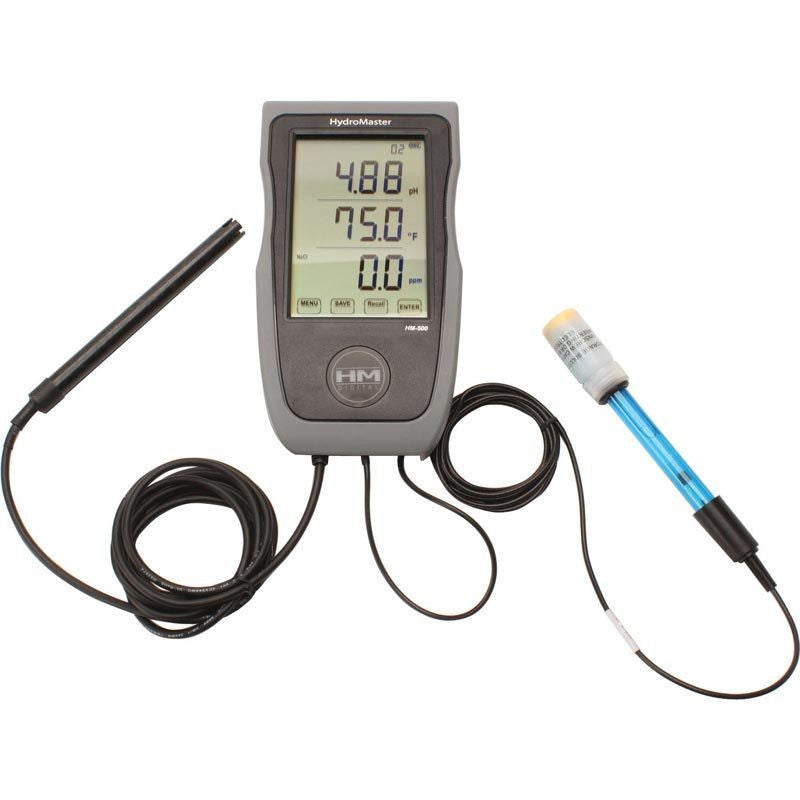 HM Digital Hydromaster pH/EC/TDS/Temp Meter HM Digital - Pacific Coast Hydroponics Los Angeles