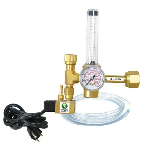 Titan Controls CO2 Regulator Titan Controls - Pacific Coast Hydroponics Los Angeles