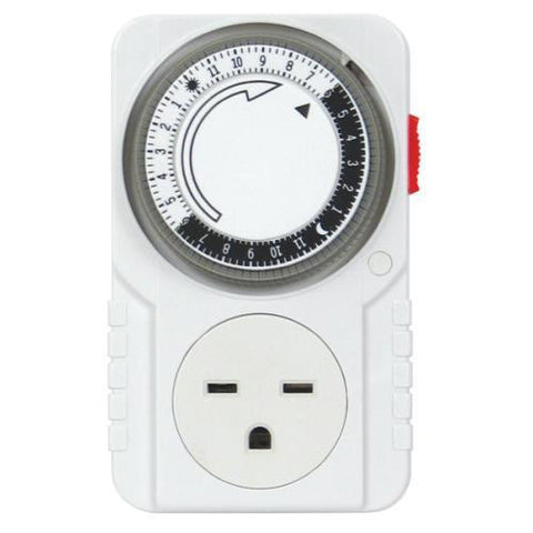 Analog Timer 24 Hour 240 volt