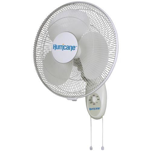 Wall Mount Fan 16 inch Hurricane Hurricane - Pacific Coast Hydroponics Los Angeles