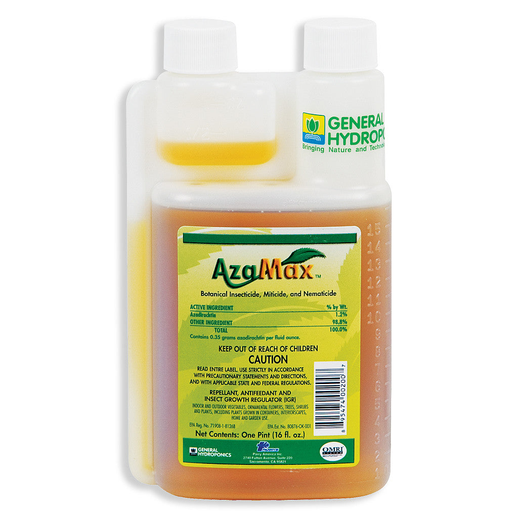 Azamax 16oz General Hydroponics - Pacific Coast Hydroponics Los Angeles