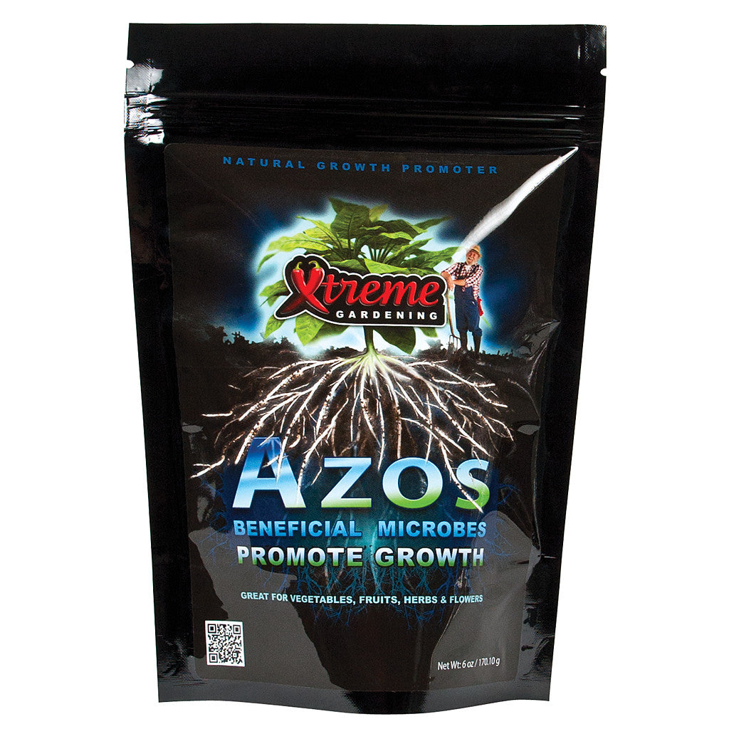 Azos Nitrogen Fixing Microbes, 6oz Bag Xtreme Gardening - Pacific Coast Hydroponics Los Angeles