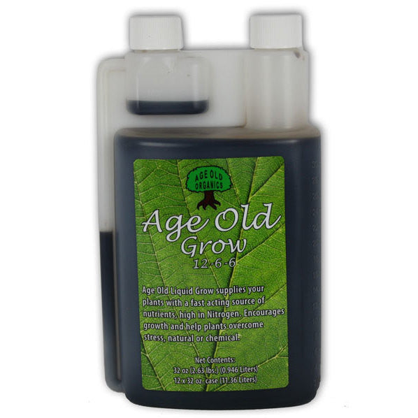 Age Old Grow Quart Age Old - Pacific Coast Hydroponics Los Angeles