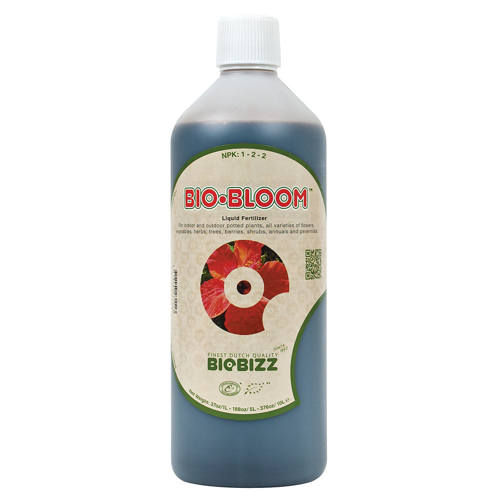 BioBizz Bio-Bloom 1 Liter Bio Bizz - Pacific Coast Hydroponics Los Angeles