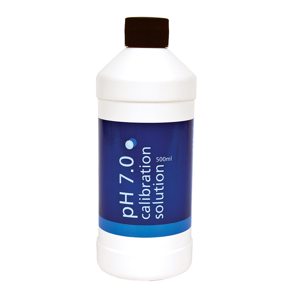 Bluelab pH 7.0 Calibration Solution 500 ml (6/Cs) Bluelab - Pacific Coast Hydroponics Los Angeles