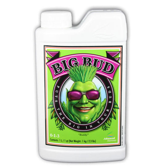 Big Bud 1 Liter Advanced Nutrients - Pacific Coast Hydroponics Los Angeles