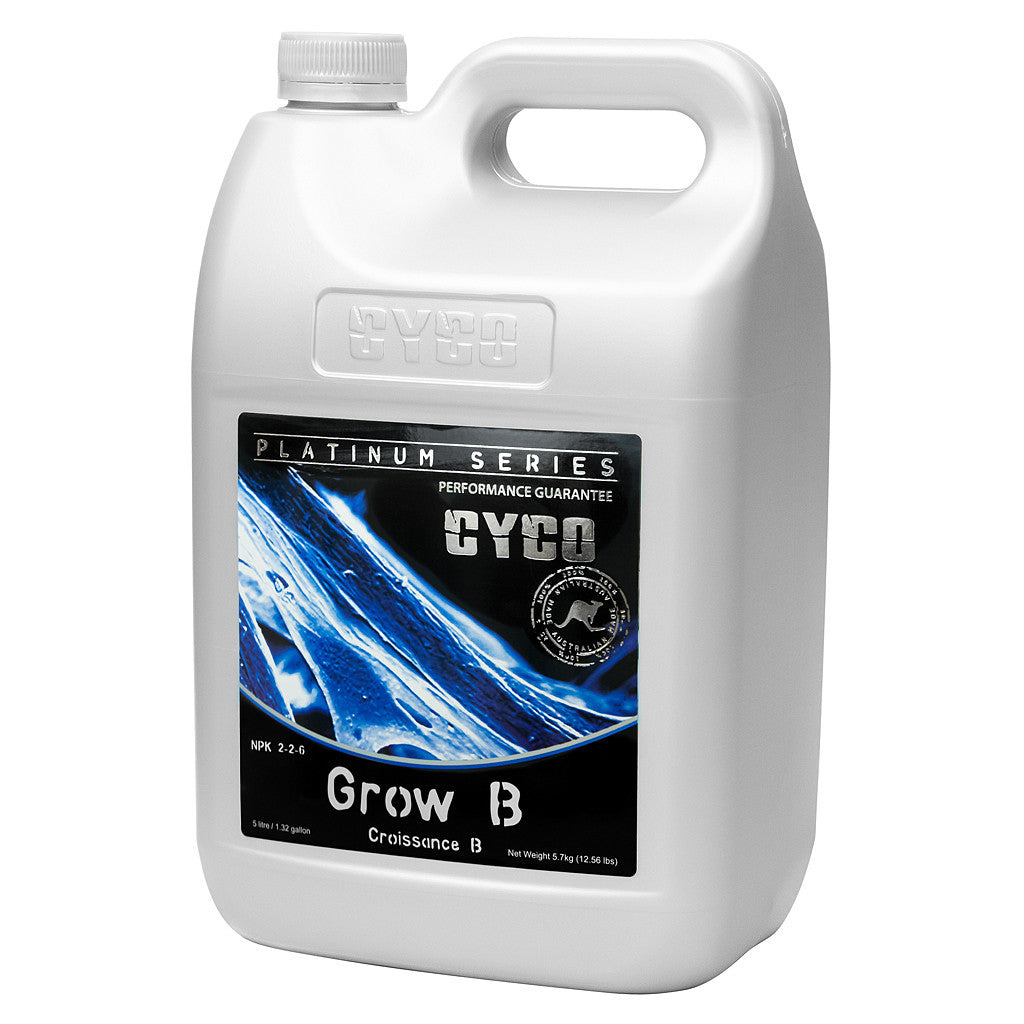 Cyco Grow B 5 Liter CYCO - Pacific Coast Hydroponics Los Angeles
