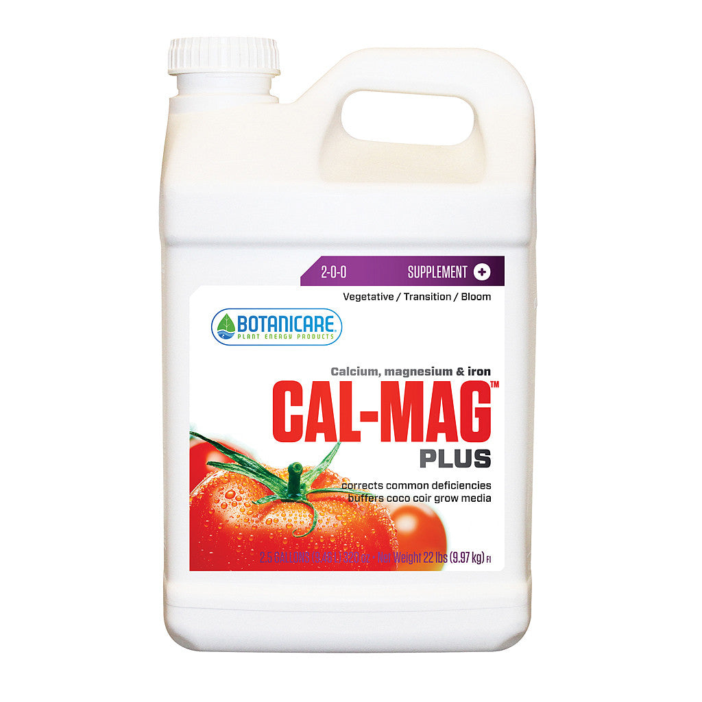 Cal-Mag Plus 2.5 Gallon Botanicare - Pacific Coast Hydroponics Los Angeles