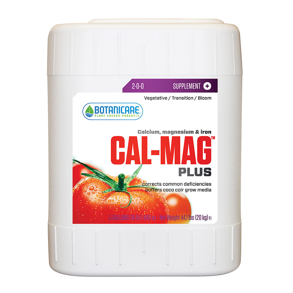 Cal Mag Plus 5 Gallon Botanicare - Pacific Coast Hydroponics Los Angeles