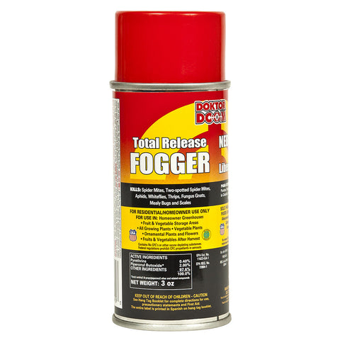 Doktor Doom Mini Total Release Fogger 3 ounce