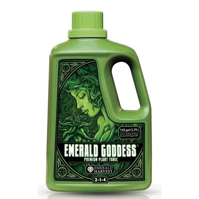 Emerald Harvest Emerald Goddess 1 Gallon Emerald Harvest - Pacific Coast Hydroponics Los Angeles