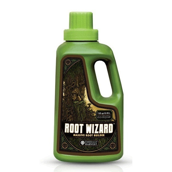 Root Wizard Liquid 1 Quart Emerald Harvest - Pacific Coast Hydroponics Los Angeles