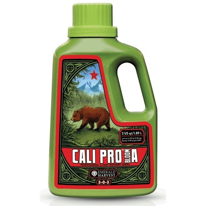 Emerald Harvest Cali Pro Bloom A 2 Quart Emerald Harvest - Pacific Coast Hydroponics Los Angeles