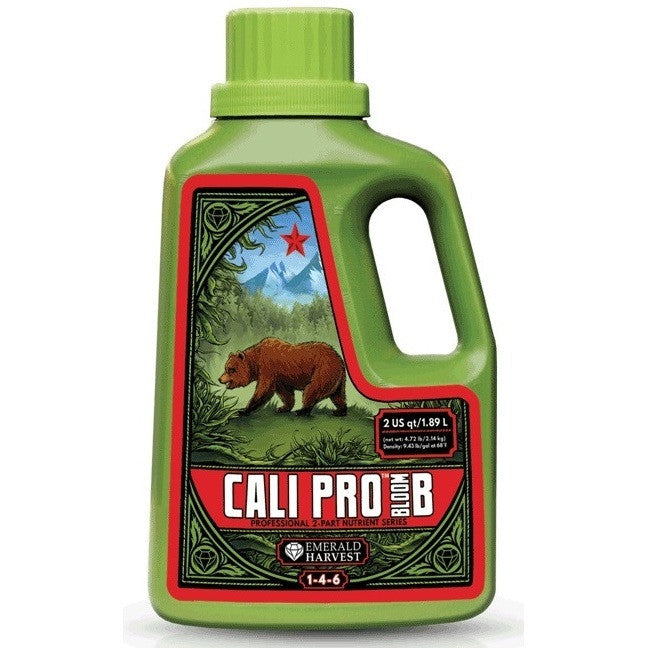 Emerald Harvest Cali Pro Bloom B 2 Quart Emerald Harvest - Pacific Coast Hydroponics Los Angeles