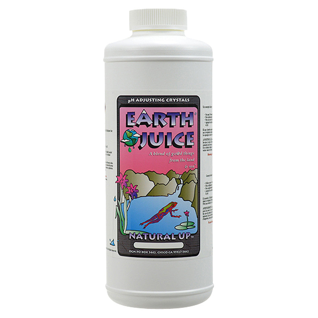 Earth Juice Natural Up, 2 pound Earth Juice - Pacific Coast Hydroponics Los Angeles