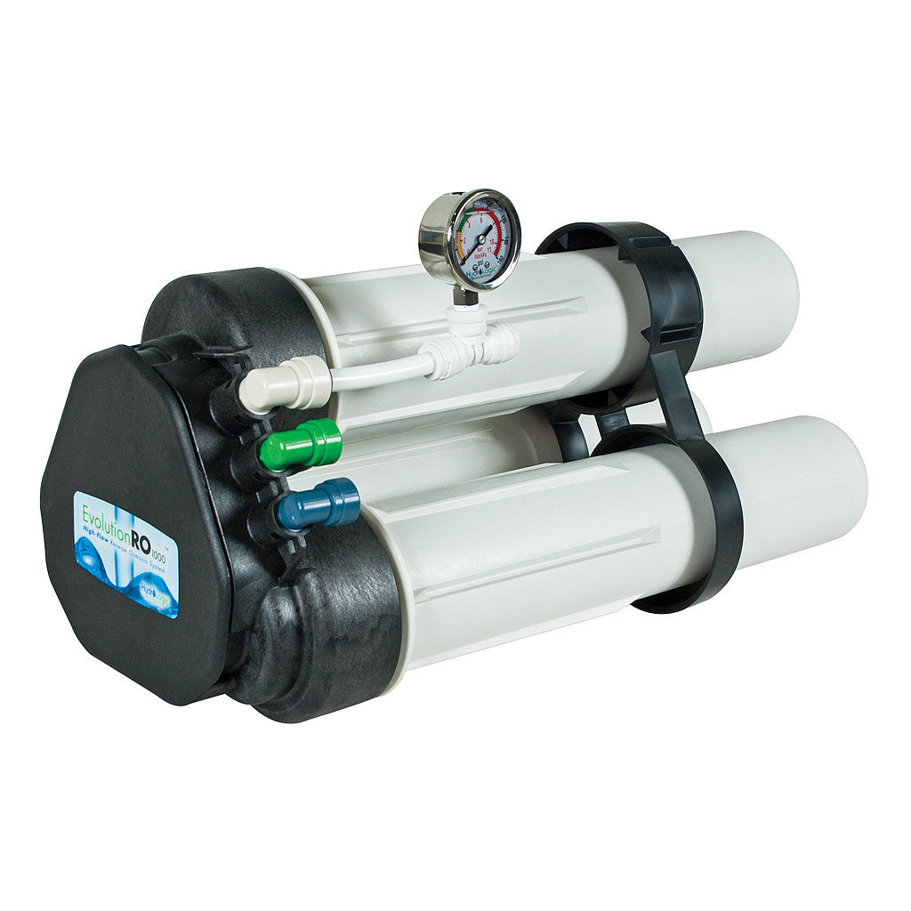 Evolution Reverse Osmosis Filter 1000 Gallons Per Day High Flow Hydro-Logic - Pacific Coast Hydroponics Los Angeles