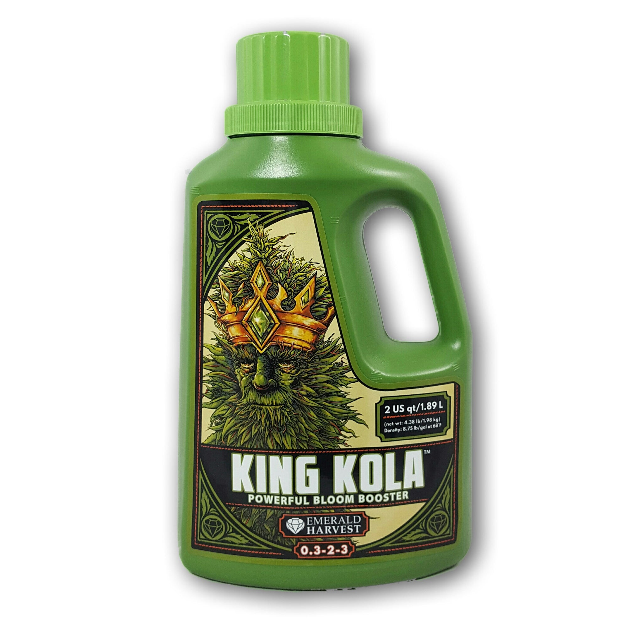 Emerald Harvest King Kola 2 Quart Front Label Emerald Harvest - Pacific Coast Hydroponics Los Angeles