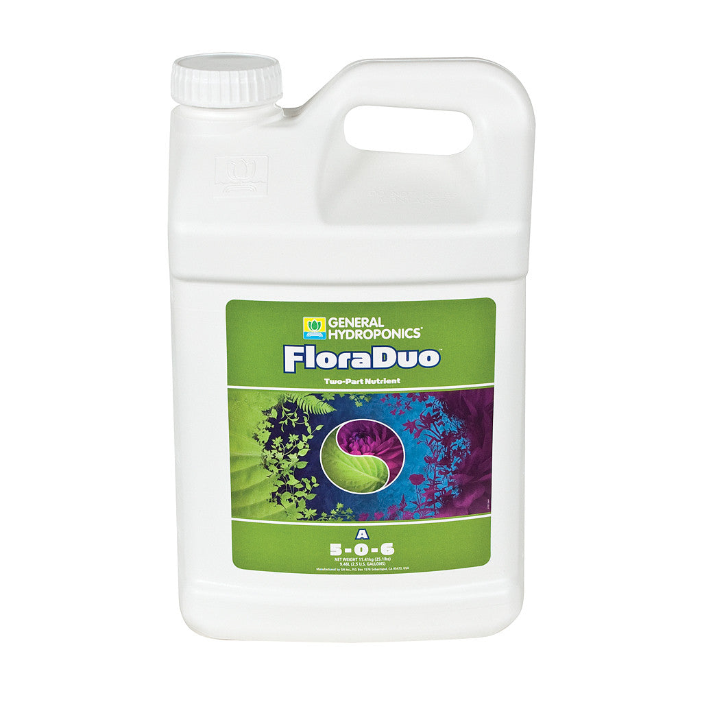 FloraDuo A 2.5 Gallon  General Hydroponics - Pacific Coast Hydroponics Los Angeles