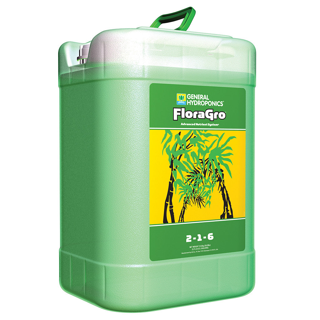FloraGro 6 Gallon General Hydroponics - Pacific Coast Hydroponics Los Angeles