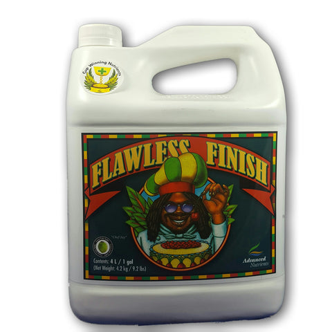 FLAWLESS FINISH 1 GALLON FRONT Advanced Nutrients - Pacific Coast Hydroponics Los Angeles