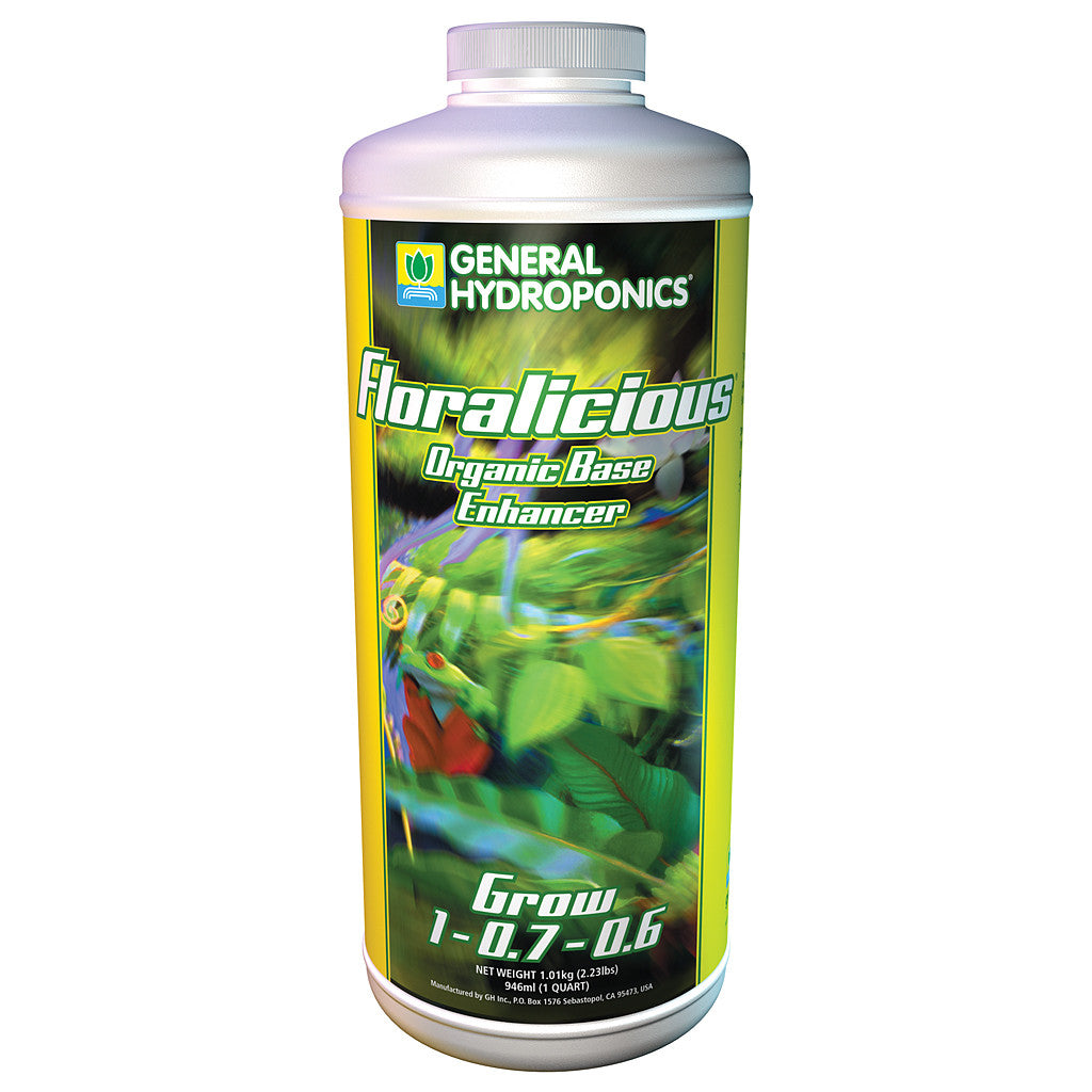 Floralicious Grow 1 Quart General Hydroponics - Pacific Coast Hydroponics Los Angeles