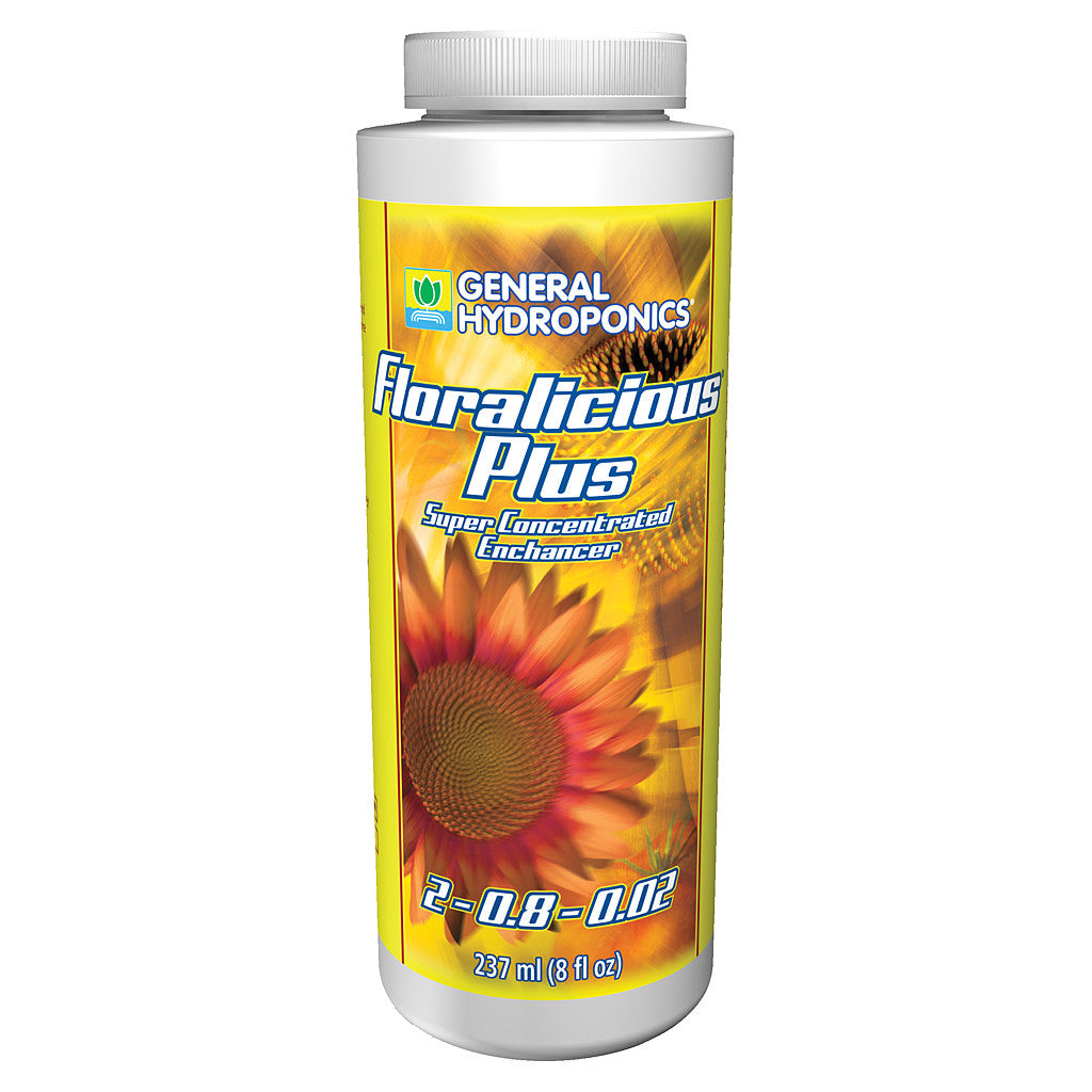 Floralicious Plus 8 Ounce General Hydroponics - Pacific Coast Hydroponics Los Angeles