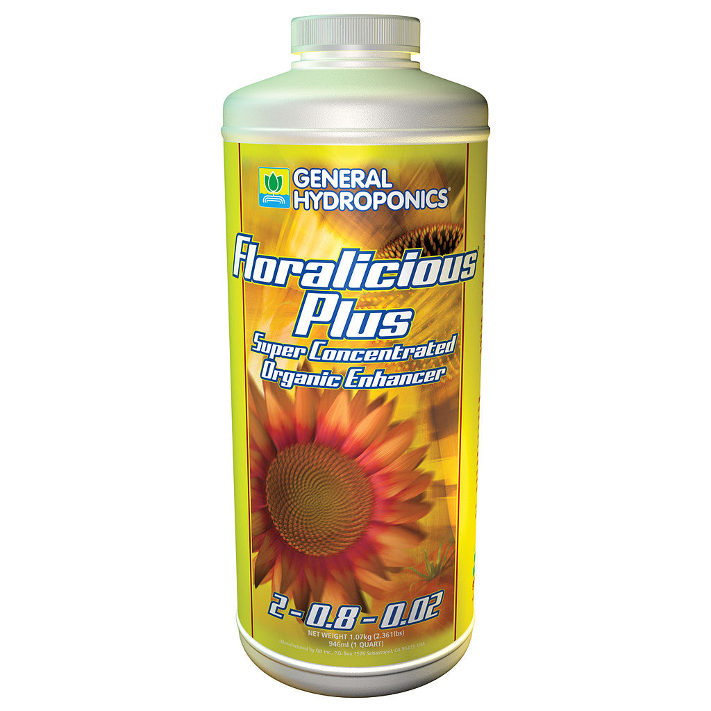 Floralicious Plus Quart General Hydroponics - Pacific Coast Hydroponics Los Angeles