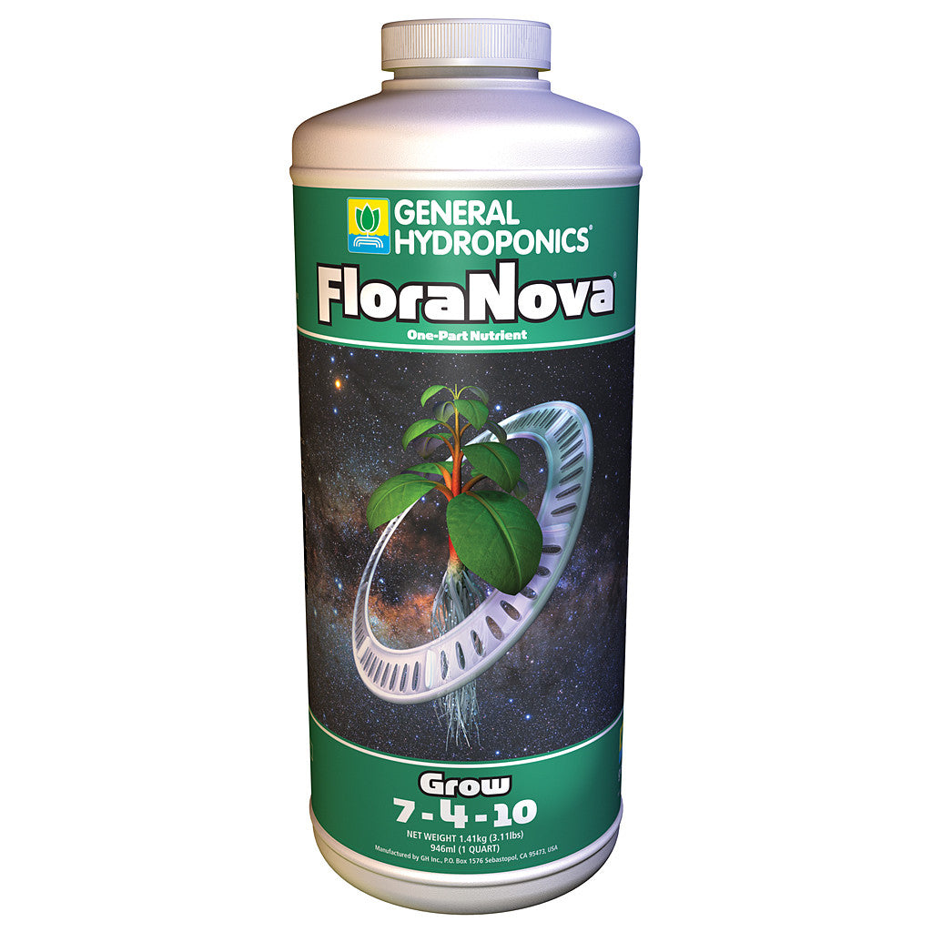 FloraNova Grow 1 Quart General Hydroponics - Pacific Coast Hydroponics Los Angeles