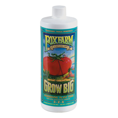 Grow Big Hydro Liquid Concentate, 1 qt