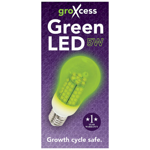 GroXcess Green LED, 5W