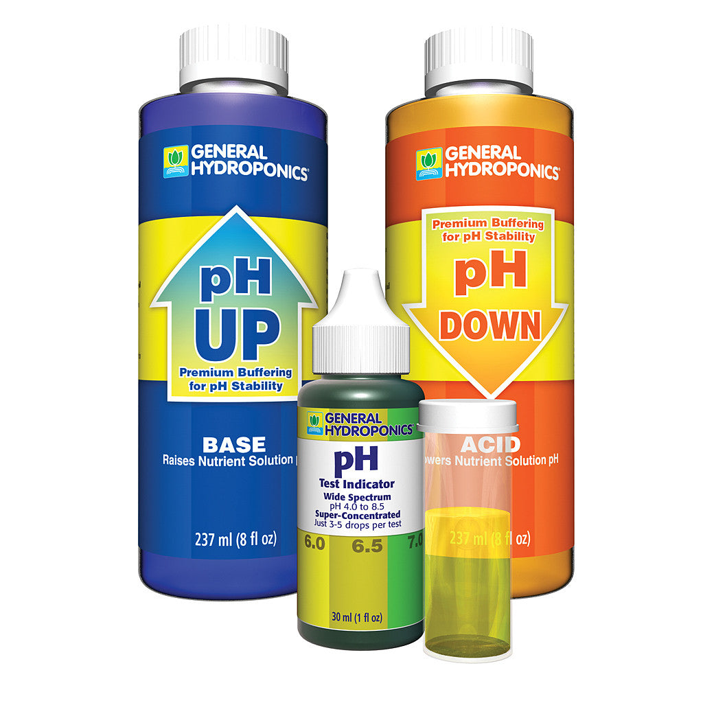 pH Control Kit General Hydroponics - Pacific Coast Hydroponics Los Angeles