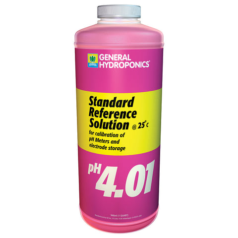 4.01 pH Calibration Solution Quart