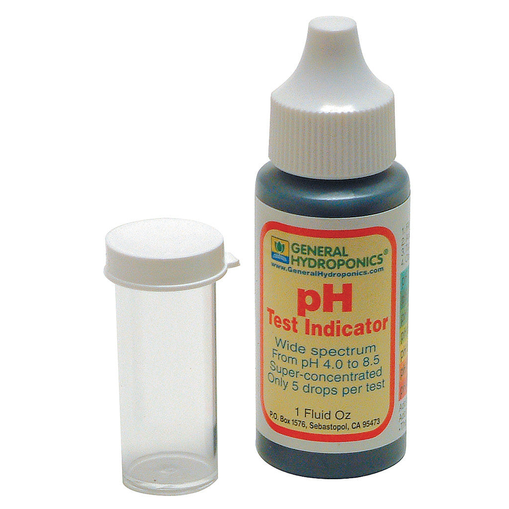 pH Test Kit, 1 ounce General Hydroponics - Pacific Coast Hydroponics Los Angeles